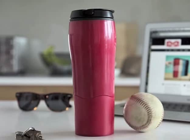 Mighty Mug Is Your Unspillable Beverage Container