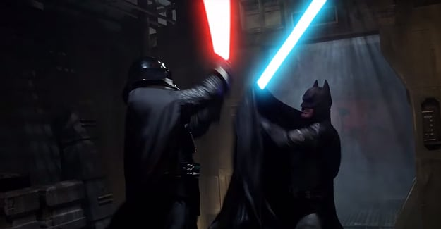 Batman vs Darth Vader: Epic Short Film With A Twist [Video]