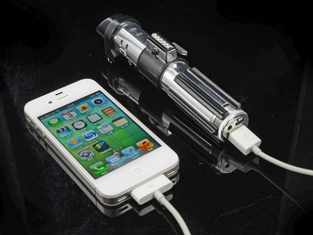Behold The Portable Smartphone Star Wars Lightsaber Battery Charger
