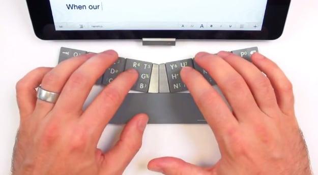 TextBlade Portable iPhone Keyboard