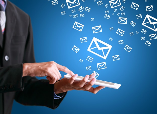 History Of Email – 44 Years Of Electronic Mail [Infographic]