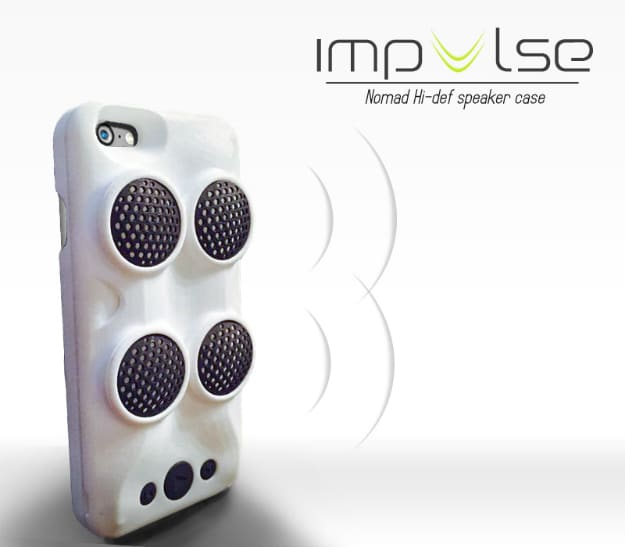 Impulse Case Adds Insane Speakers To Your iPhone 6