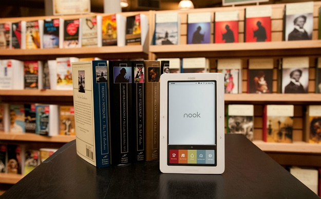 Nook Indie E-Books Reading