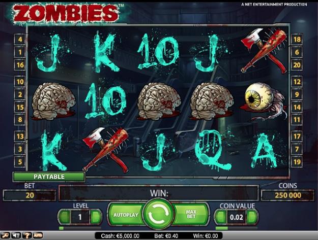 Zombie Slot Machines Are Invading And It Is Awesome