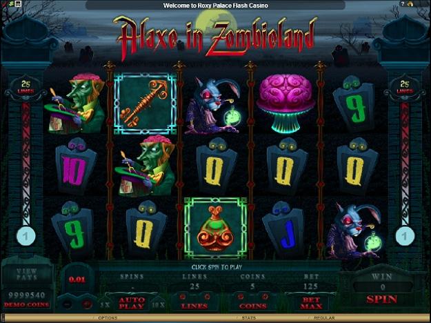 Zombie Slot Machine Invasion