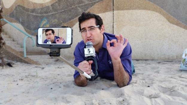 SoloCam – Selfie Stick Turned Into A Full Reporter Camera Rig