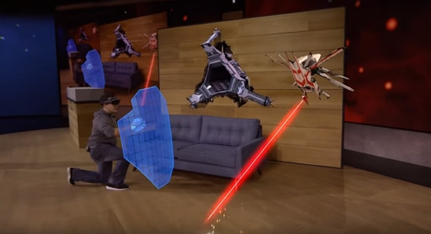 WHOA! –Microsoft HoloLens Brings Games Into Our Reality