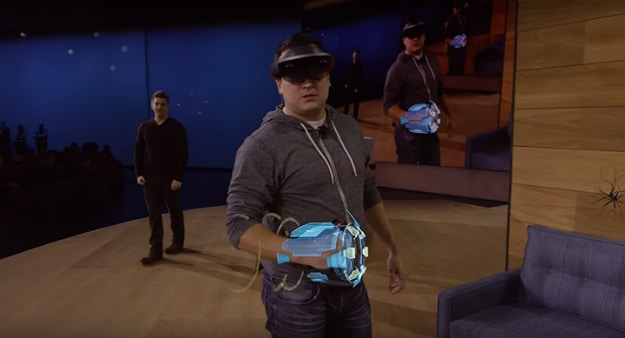 Microsoft HoloLens Mixed Reality