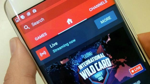 YouTube Gaming Service Upgrade