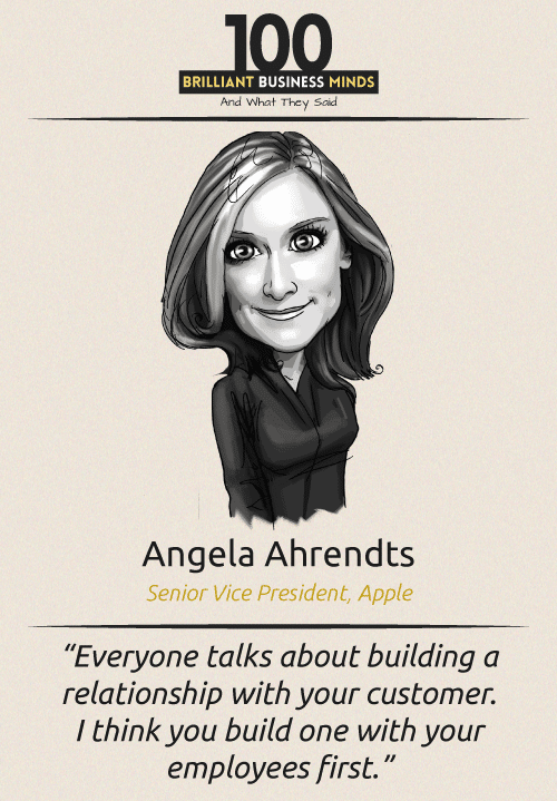 Angela Ahrendts Inspirational Quotes