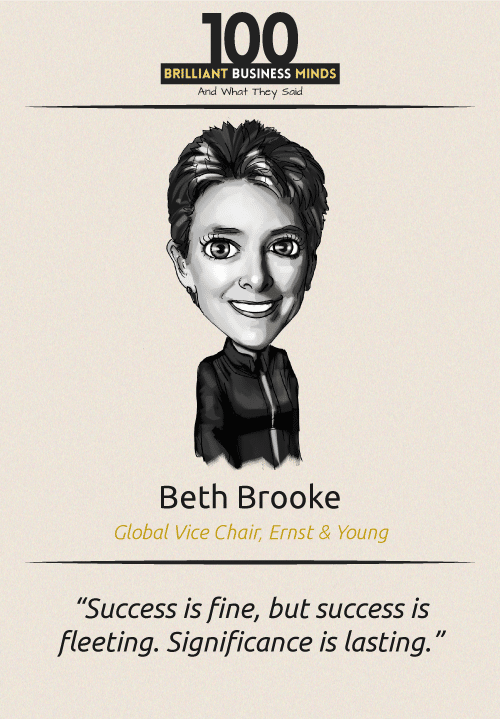 Beth Brooke Quote