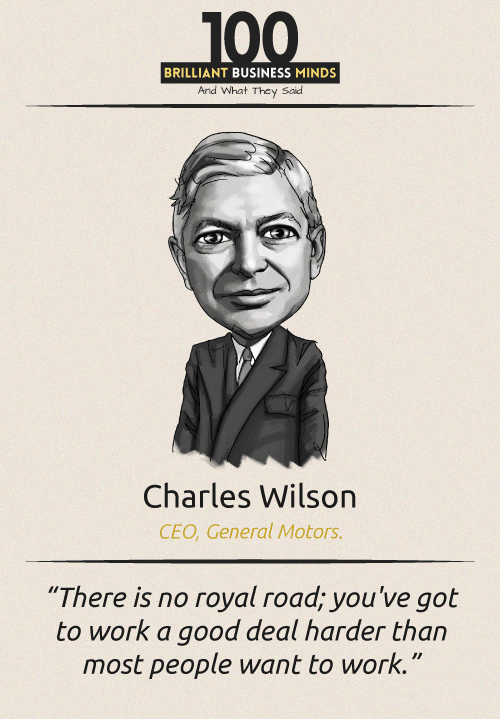 Charles Wilson Quote