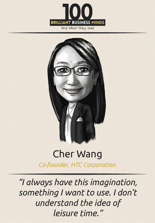 Cher Wang Quote