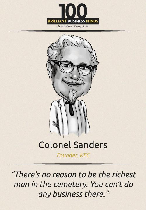 Colonel Sanders Quote