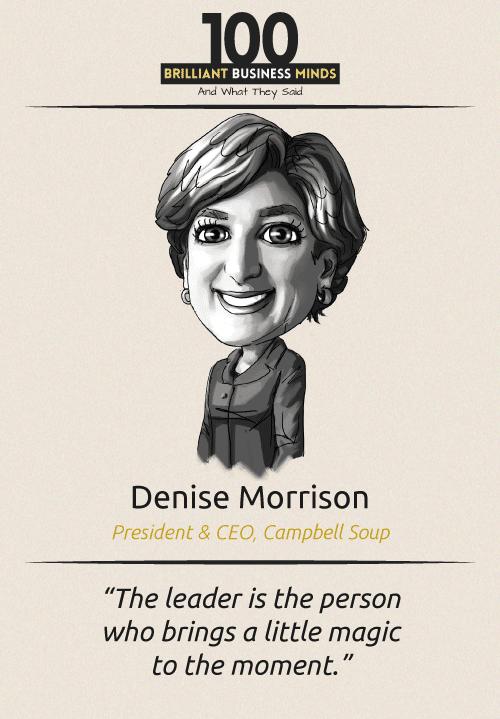 Denise Morrison Quote