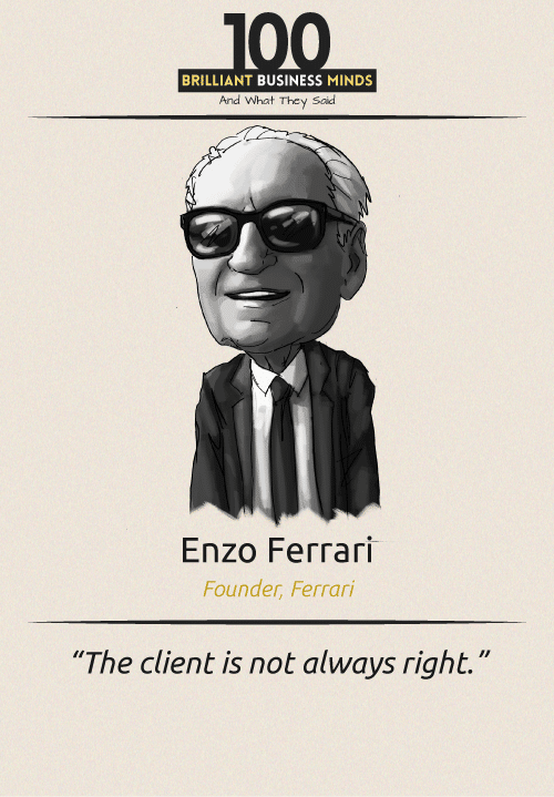 Enzo Ferrari Quote