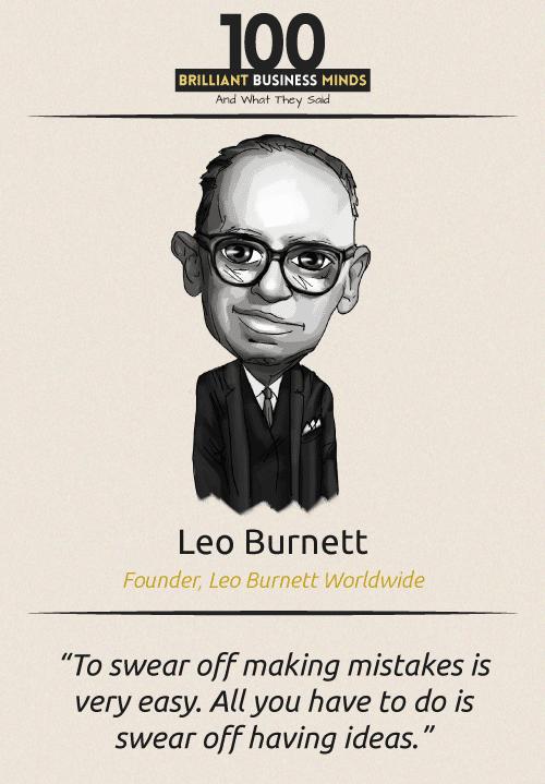 Leo Bernet Quote
