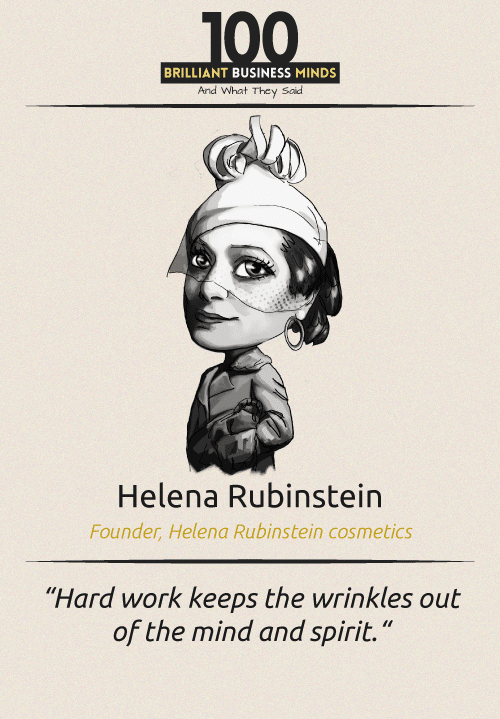 Helena Rubinstein Quote