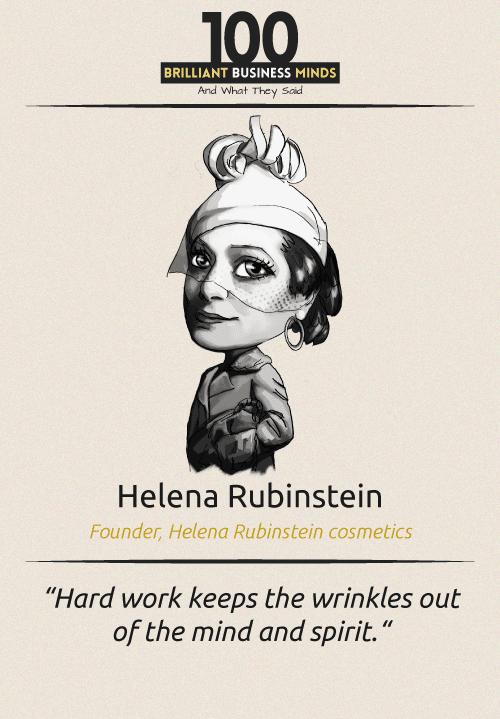 Helena Rubinstein Quote