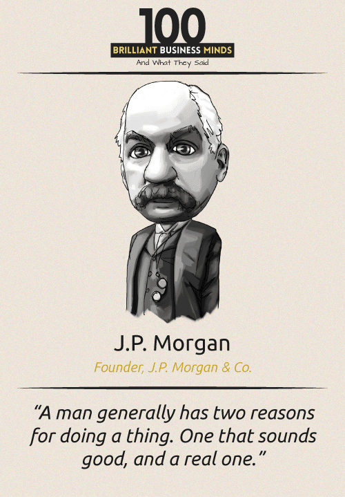 J P Morgan Quote