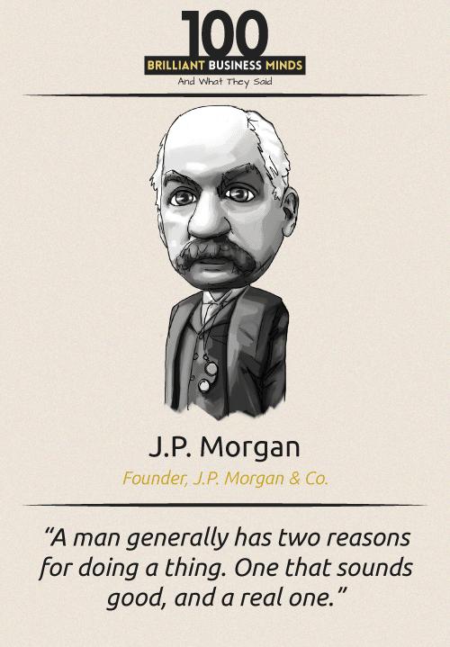 J P Morgan Quote