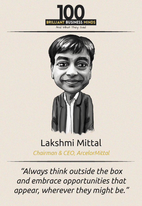 Lakshmi Mittal Quote