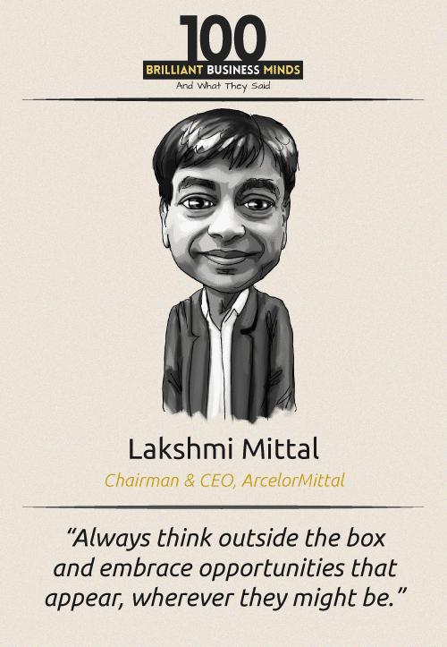 Lakshmi Mittal Quote