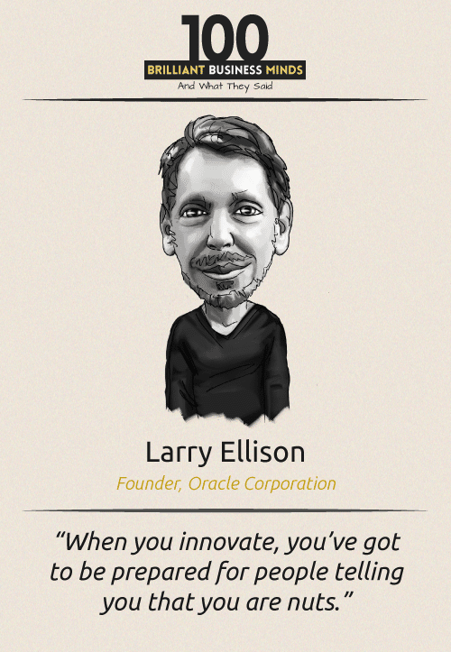 Larry Ellison Quote