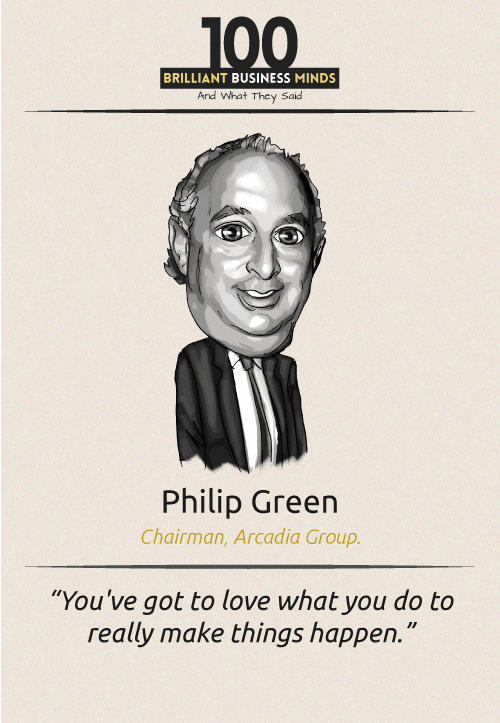 Philip Green Quote