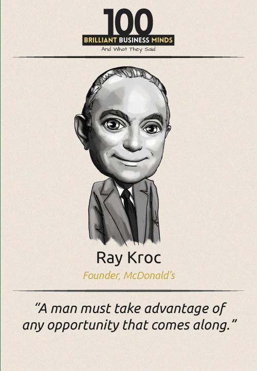 Ray Kroc Quote