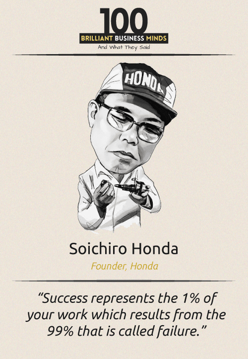 Soichiro Honda Quote