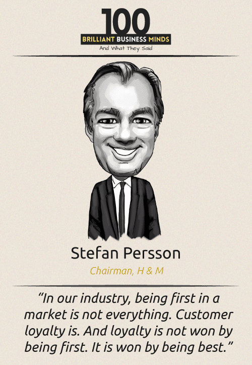 Stefan Persson Quote