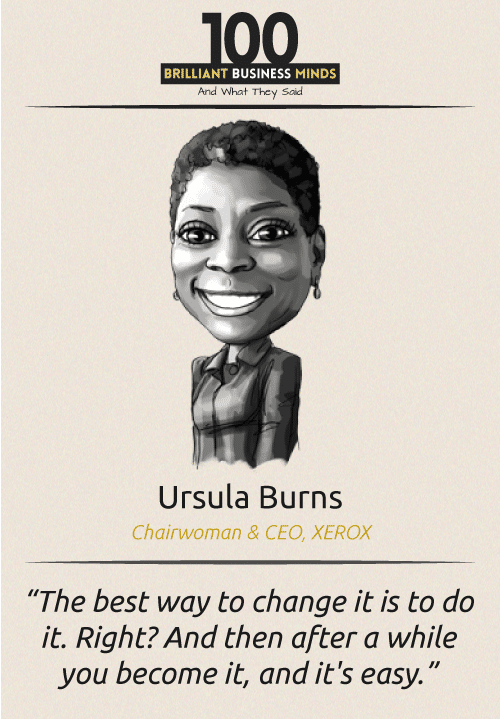 Ursula Burns Quote