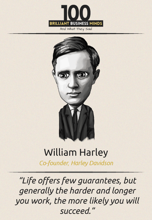 William Harley Quote
