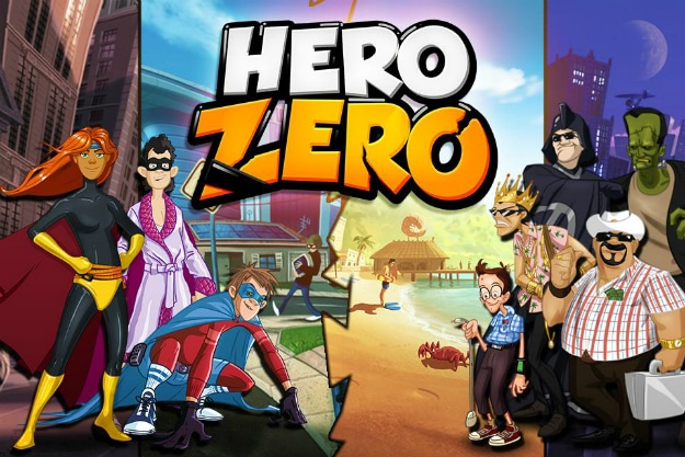 ZERO HERO – Become The Greatest Superhero Ever!