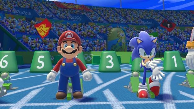 Mario Sonic Rio 2016