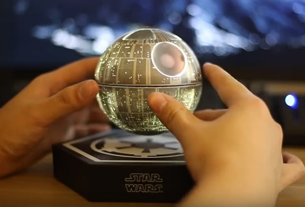 Death Star Floating Speaker Is The Jedi Trick You Are Looking For