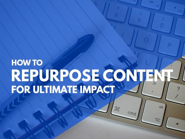 How To Repurpose Content Header