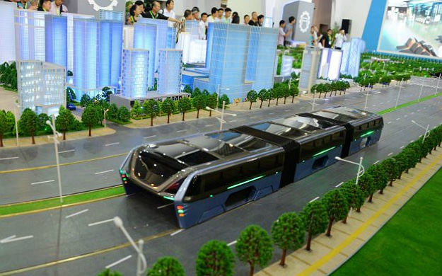 Elevated Bus Transit Concept