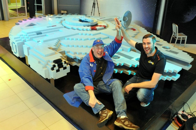 Legoland Malaysia Builds World's Largest LEGO Millennium Falcon