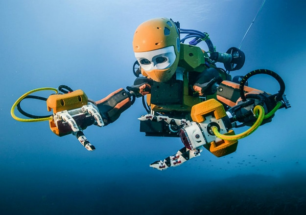 OceanOne Is A Robotic Diver That Performs Like A Human