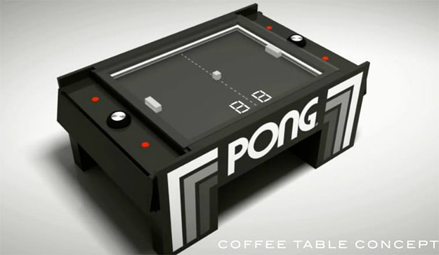 The Pong Arcade Table