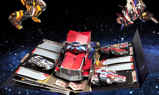 Transformers Pop-Up Book Is The Ultimate Fan Collectible