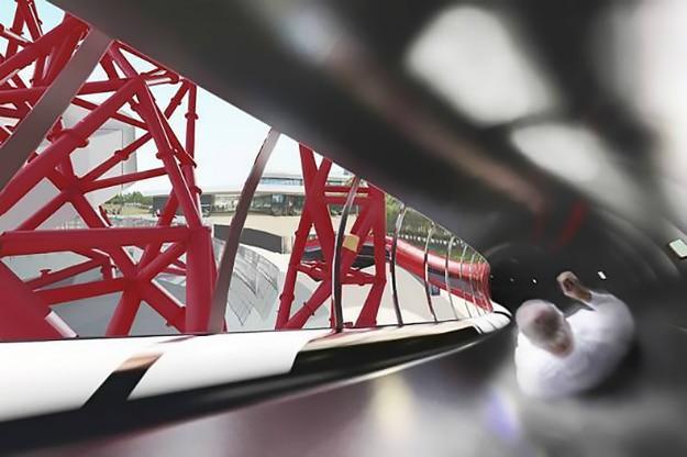 World's Tallest Tunnel Slide