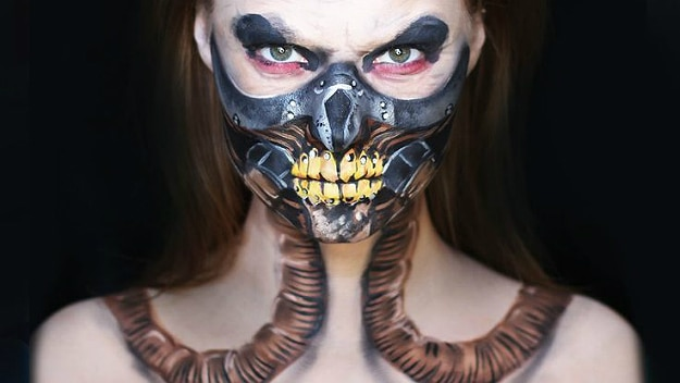 23 Extraordinary Body Paintings By Alexys Fleming