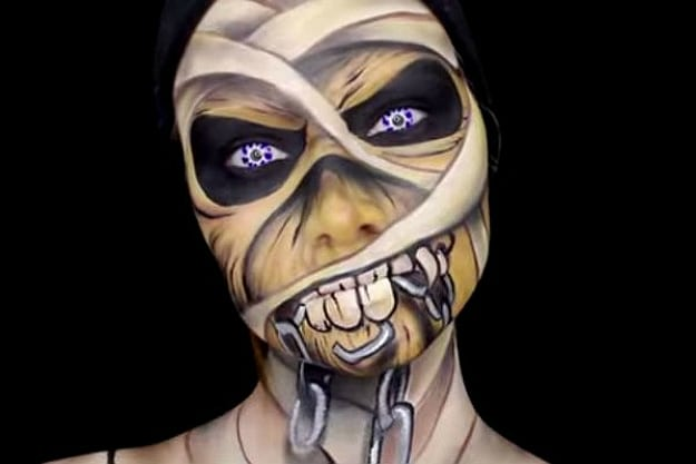 Amazing Body Paintings By Lex
