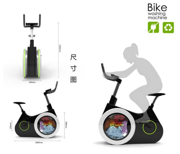 Bike Washing Machine Concept Invention