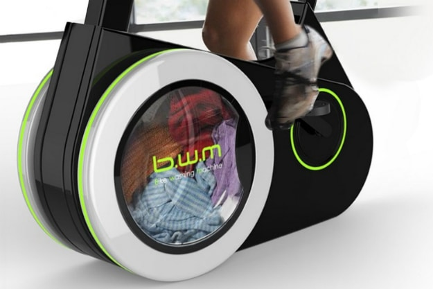 Bike Washing Machine Exercise Invention