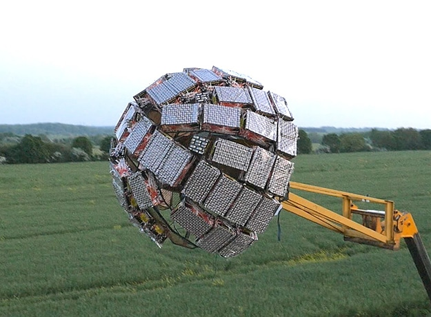 Colin Furze Creates Incredible Firework Death Star