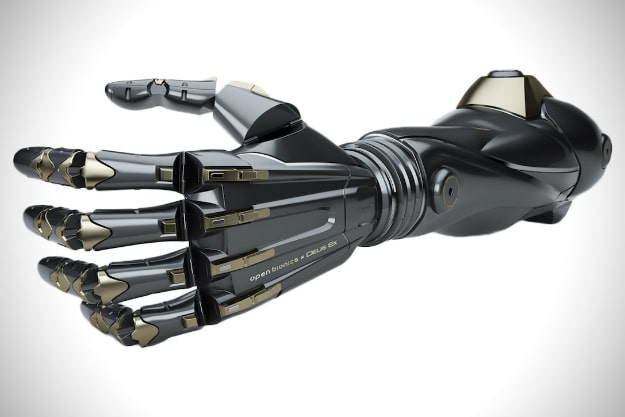 Prosthetic Arms Inspired By Deus Ex Are Coming Next Year